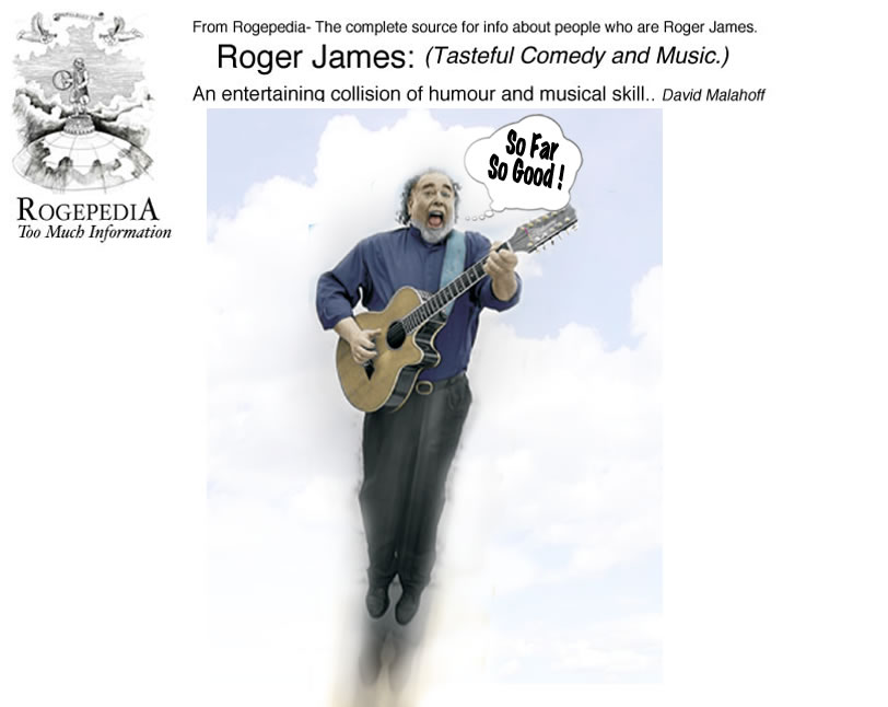 Roger James Comedy and Music